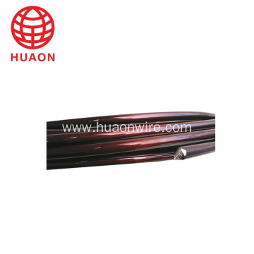 Class 200 enameled aluminum wire AWG3 to 10