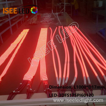 360 Degree Milky Flexible Digital  LED Strip