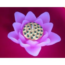 Decorative Flower Shape Scented Candle