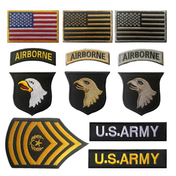Division Armband Tactical Embroidery Custom Velcro Patches