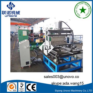 roller metal anode plate shaping machine
