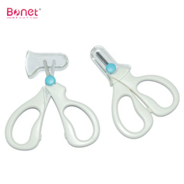 Plastic handle beauty baby manicure scissors