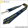 jacquard id card neck lanyard for school