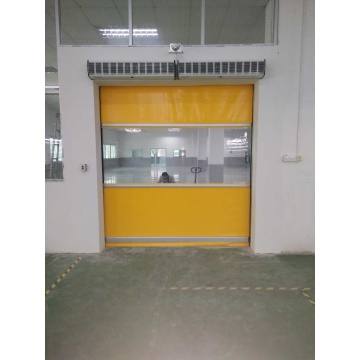 Motorized High Speed Fast Rolling Door