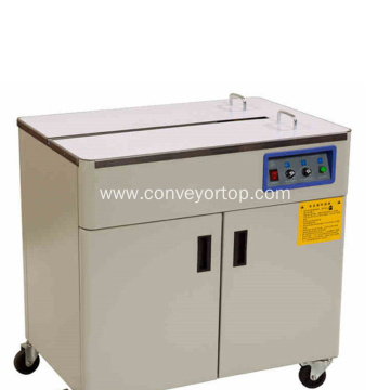 Good Quality Semi Automatic Carton Box Strapping Machine