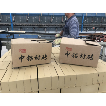 High Alumina Wear Resistant Ceramic Lining Bricks