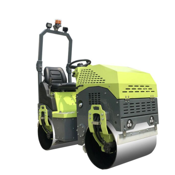 Low price ride on diesel engine road roller