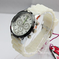 Fashion Young Lady Silicone Quartz Watch