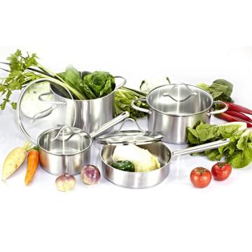 Stainless Steel Cookware Set 8PCS Kitchenware