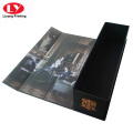 Folding good quality luxury single bottle wine box