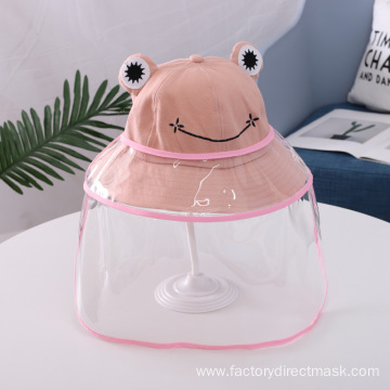 Pink Frog Anti-droplet Hat for Children