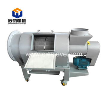 high yield centrifugal sifter for small particles