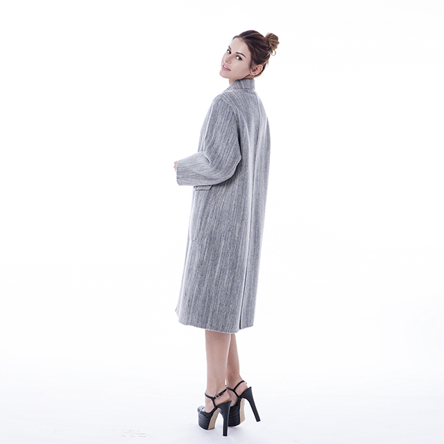 Fashion 2019 Cashmere Wool Coat