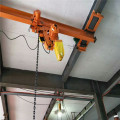 LX 1 ton single girder suspension bridge crane