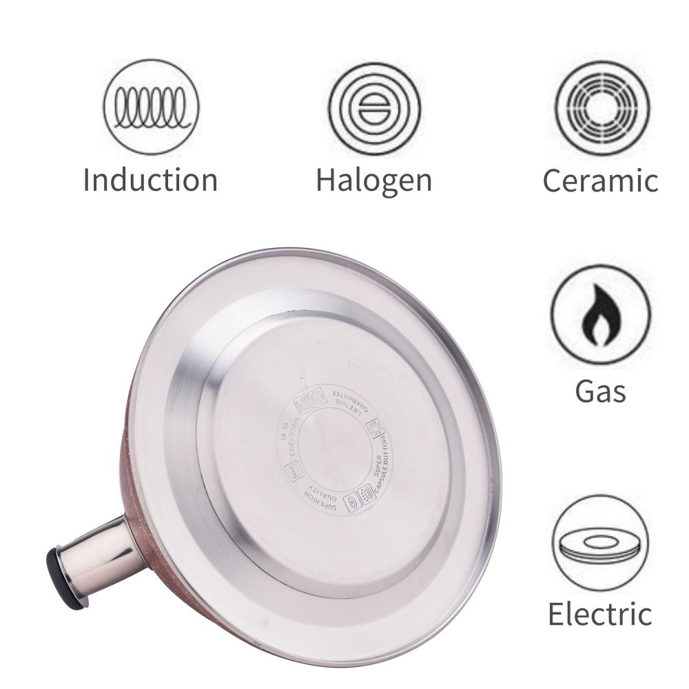 3.2L Stovetop Whistling Water Kettle