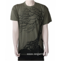 Good quality Men's 100% cotton t-shirt short sleeve