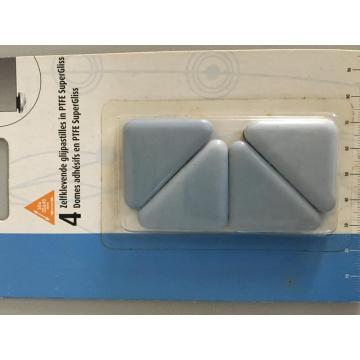 Triangle style PTFE Sliders