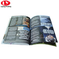 saddle stitching colorful softcover books printing