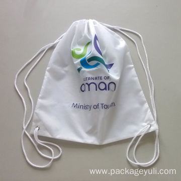 simple cheap drawstring bag