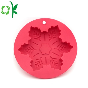 Silicone Cake Mold Heat Resistant Snowflack Shaped Mold