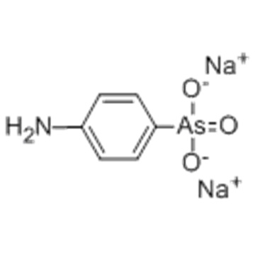 Arsoninsyra, As- (4-aminofenyl) -, natriumsalt (1: 1) CAS 127-85-5