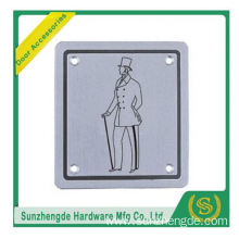 BTB SSP-017SS Man Hotel Toilet Door Signs