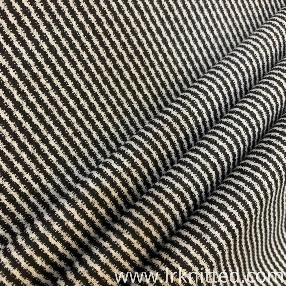 Yarn-Dyed Jacquard Fabric
