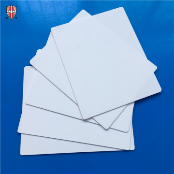 white moulding Al2O3 alumina ceramic sheet blank
