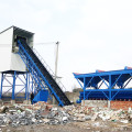 Automatic low cost small HZS60 concrete batching plant