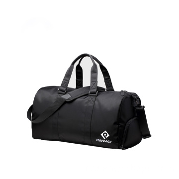 Moda Unisex Travel Gym Bag Com Compartimento De Sapato
