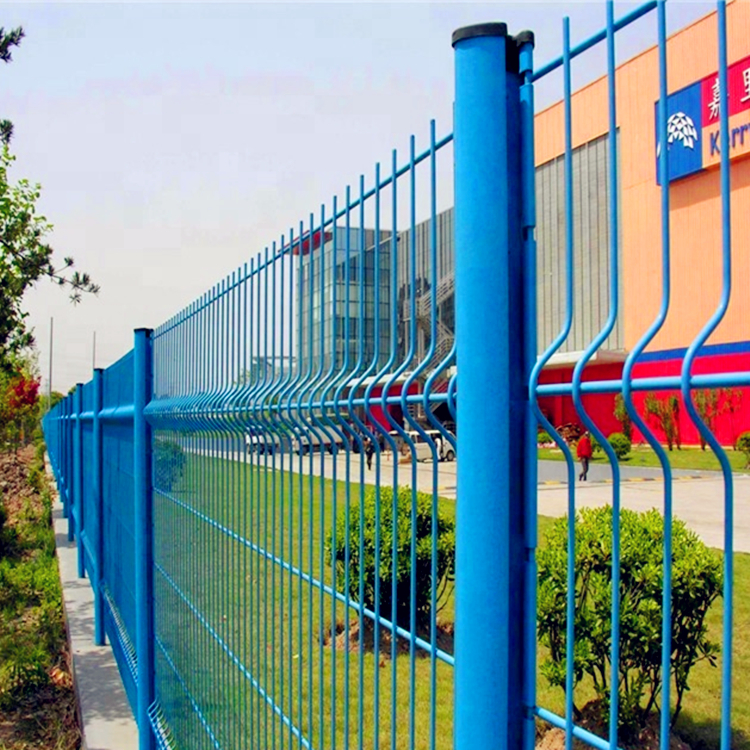 High-security-Fencing-3D-Bending-Fence-Welded