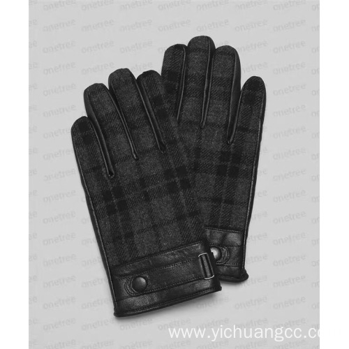 Fashion high quality waterproof comfortable mens glove