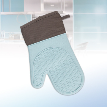 Light Blue Silicone Gloves for Family