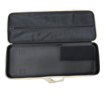 Eco-Friendly double zipper leather violin hard case