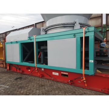 Branch breaking equipment disc crusher