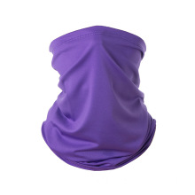 Custom purple neck chief face bandana scarf