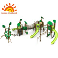 Green Spring Tree Outdoor Playground For Children