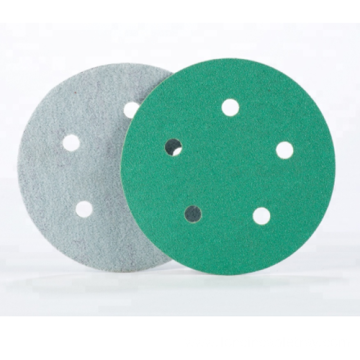 Green Hook and Loop Film Disc for automotive