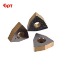 Newcomer carbide radius inserts for cast iron