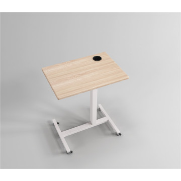 Movable bed nurse table