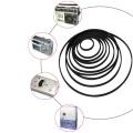 60Pcs 40-100mm Mix Cassette Tape Machine Belt Assorted Common Belt For Recorders Walkman DVD-0.5mm