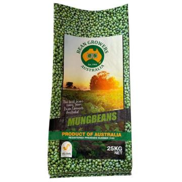 Multicolor Printed PP Woven Soybean Mungbean Packaging Bag