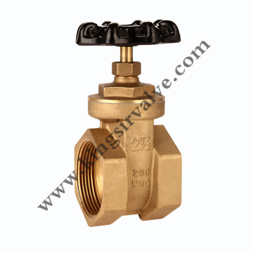 F * F Brass Gate Valves