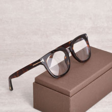 Vintage Tom For Man Optical Eyeglasses Frames Forde Fashion Acetate Women Reading Myopia Prescription Glasses 5179 With Case