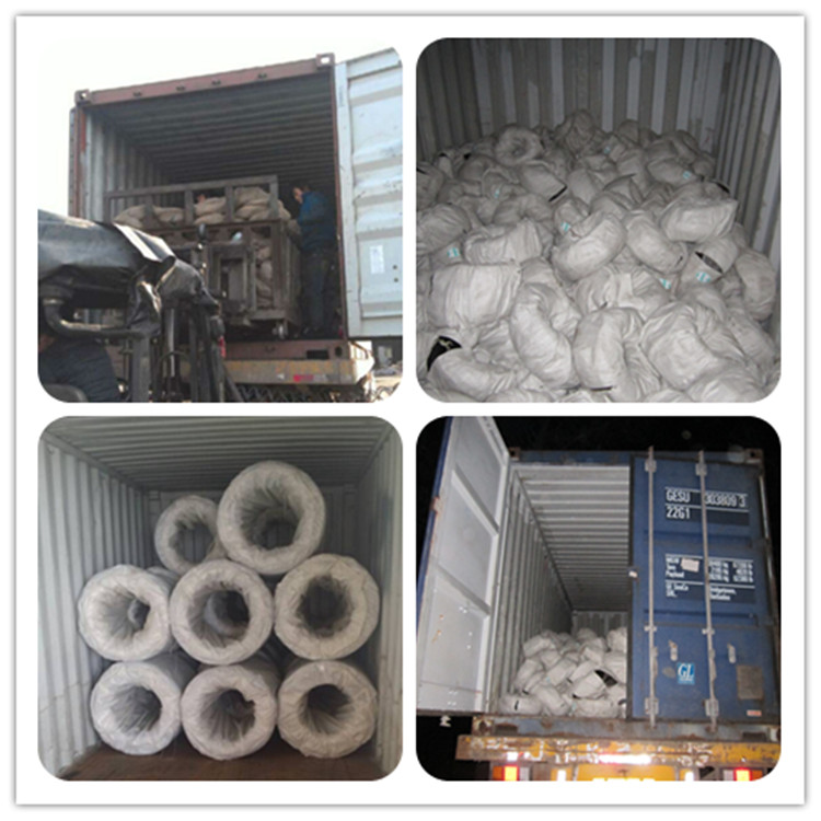 black annealed wire loading