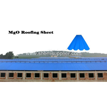 High Strength Anti-corosion Insulating MgO Roof Sheets