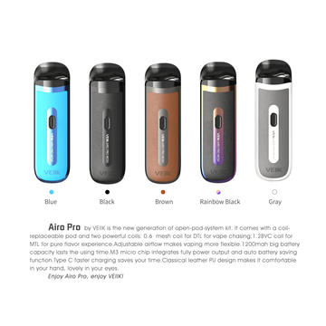 VEIIK battery vape pod electronic cigarette