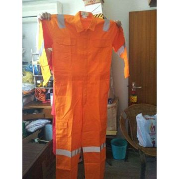 OEM Cotton Nylon FR Coverall with Reflective Tape