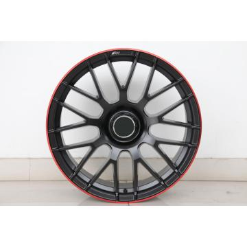Red Clearcoat 19inch, 20inch Wheel Rim Staggered