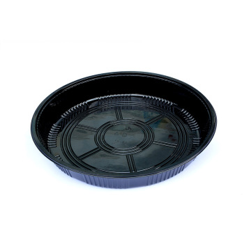 Big PS plastic round Pan with blister card